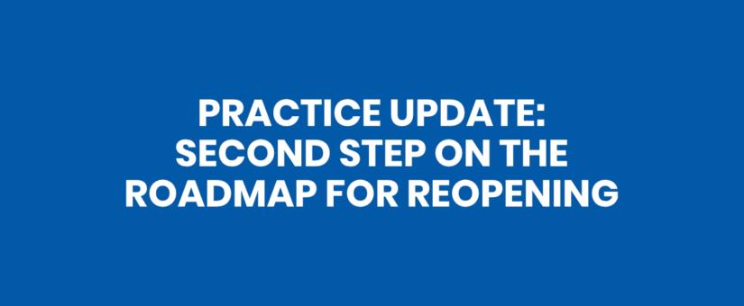 COVID-19 Update: Second Step